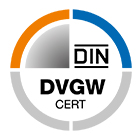 DVGW-Gas: Test mark certificates for use in gas supply systems